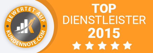 Top Dienstleister 2015