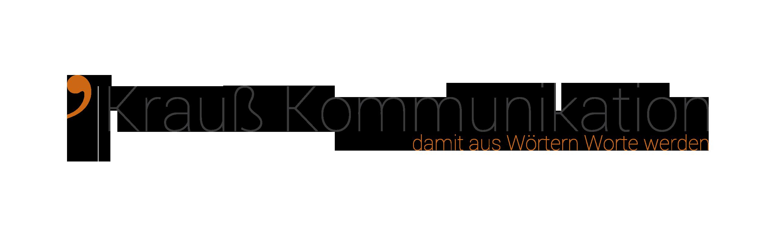 Logo von Krauß Kommunikation