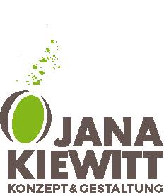 Logo von JANA KIEWITT Konzept & Gestaltung