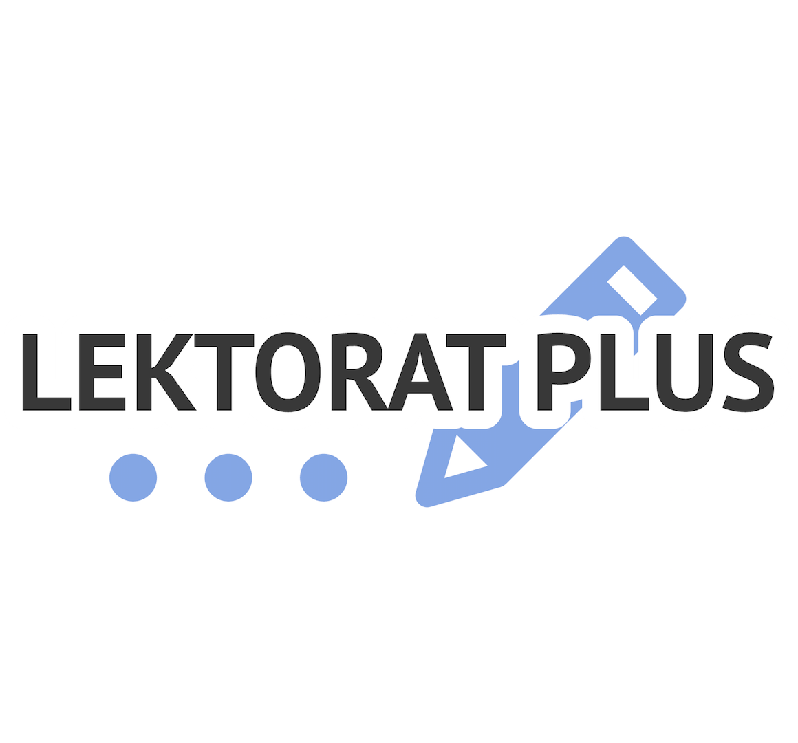 Logo von Lektorat Plus