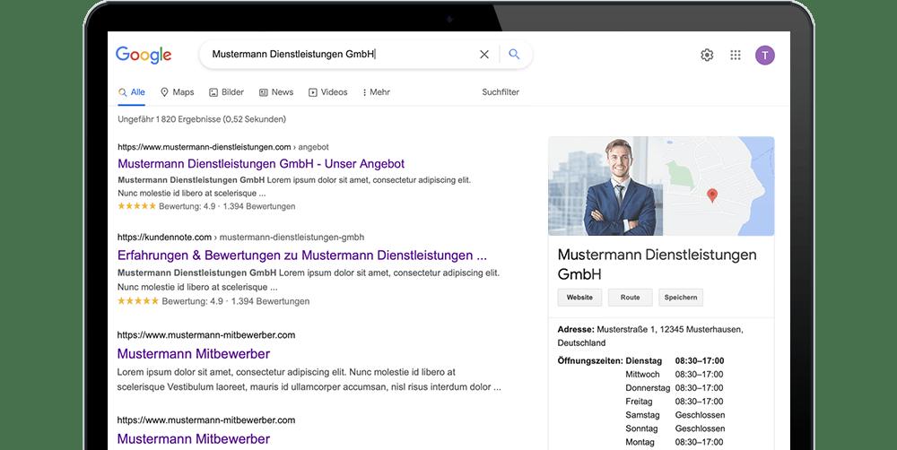 Google Sterne in den Suchergebnissen